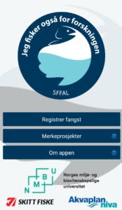 app forside fangstapp
