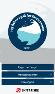 """Vår nye app """"Fangst"""" - til nytte for fiskere og forskere!"""